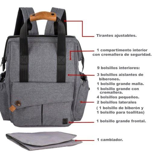 Características de la maleta