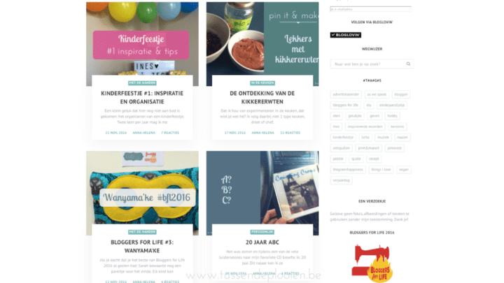 Halfjaar bloggen - selectie blogposts