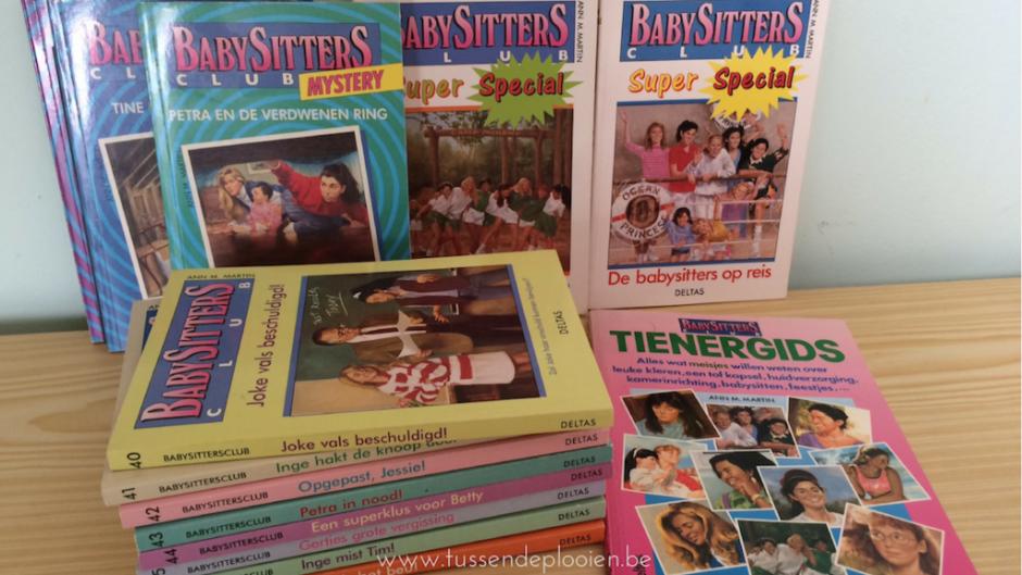 Mijn favoriete bezigheid als kind: lezen - Babysittersclub