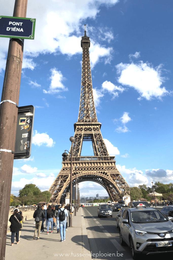 Citytrip Parijs met kinderen - Eiffeltoren