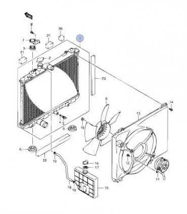 Radiador de motor (mecánico) CHINA