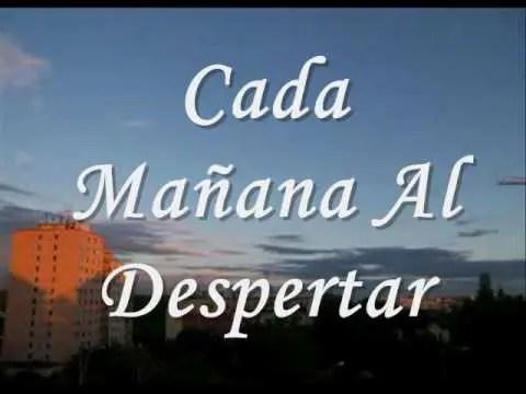 En este momento estás viendo Jesus Adrian Romero – Cada Mañana