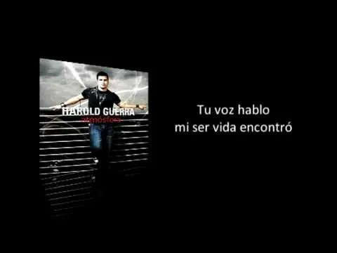 Harold Guerra – Verdad