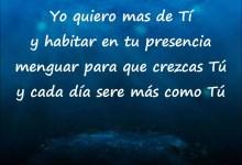 Yo quiero mas de ti - Gadiel Espinoza
