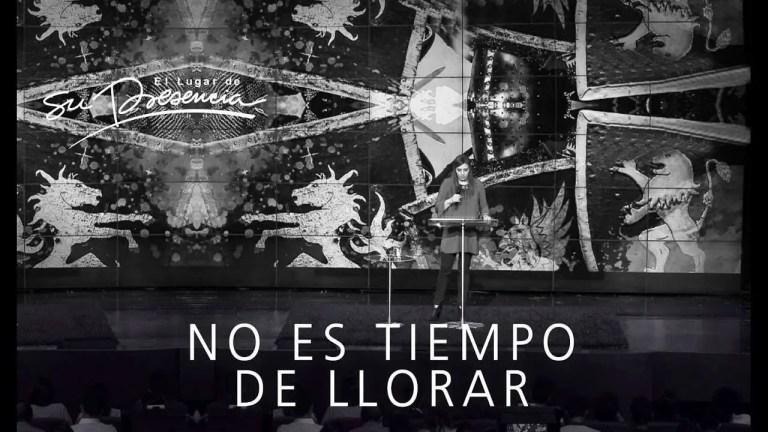 No es tiempo de llorar – Diana Tapias