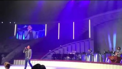 Julio Melgar en Lakewood Church 2013