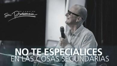 Photo of No te especialices en las cosas secundarias – Andrés Corson