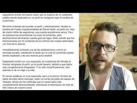 Daniel Habif responde a la difamación de Sergio Melchor