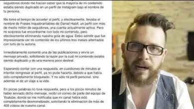 Photo of Daniel Habif responde a la difamación de Sergio Melchor