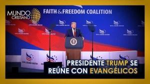Lee más sobre el artículo Donald Trump se reune con lideres evangelicos