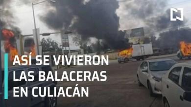 Photo of Culiacan Sinaloa México, así se vivieron las balaceras