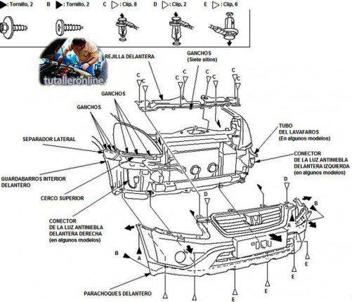 HONDA CR-V 2002-2006 MANUAL DE TALLER Y REPARACION