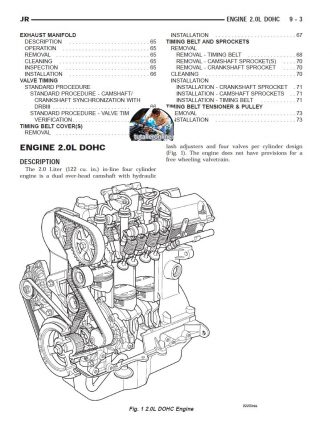 CHRYSLER SEBRING 2005-2006 MANUAL DE TALLER Y REPARACION