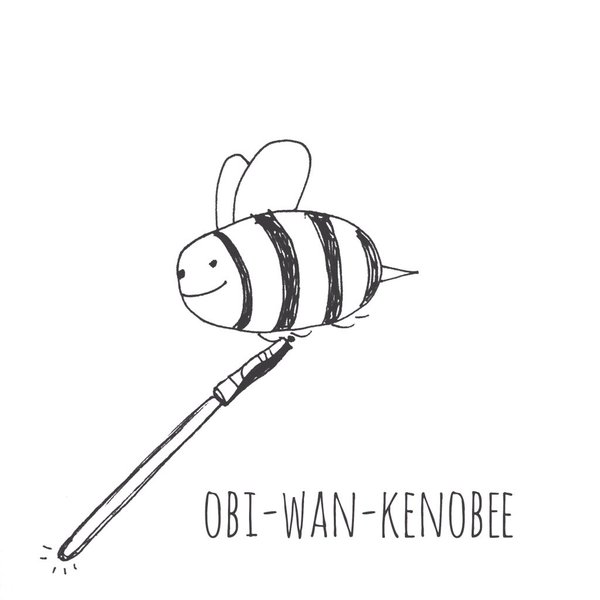 Tut and Groan Guest Toon Obi-Wan Kenobee by Rubbish Drawings