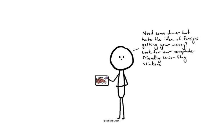 Tut and Groan If Ads Were Honest (Part Seven) cartoon