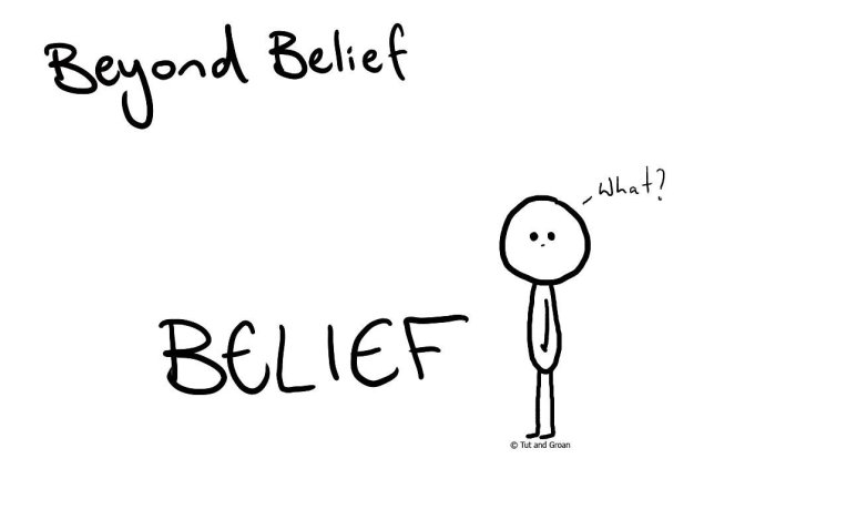 Tut and Groan Beyond Belief cartoon