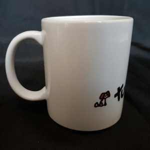 Mug: Graham and the Tut and Groan Logo