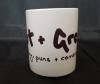 Tut and Groan Logo mug 2