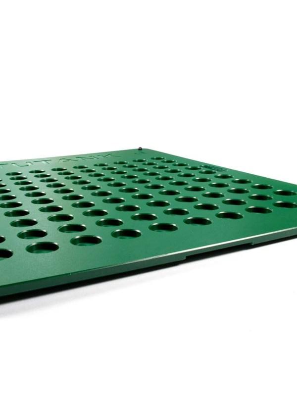 Spillbase grønn med 100 hull