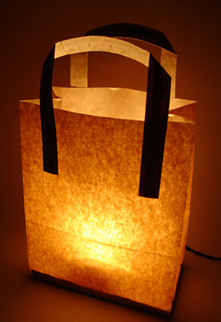 Ilumina con bolsas  Tutate