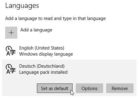 Anleitung: Englisches Windows 10 auf Deutsch oder eine andere Sprache umstellen