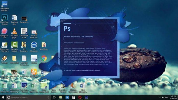 Photoshop : capture d'écran