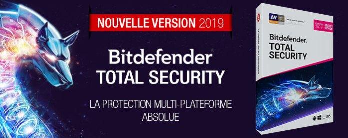 Télécharger Bitdefender Total Security 2019