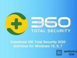 Télécharger 360 Total Security 2020 Antivirus pour Windows 10