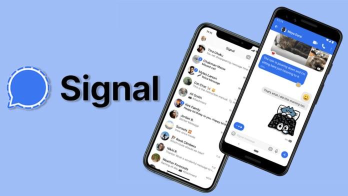 Télécharger Signal APK