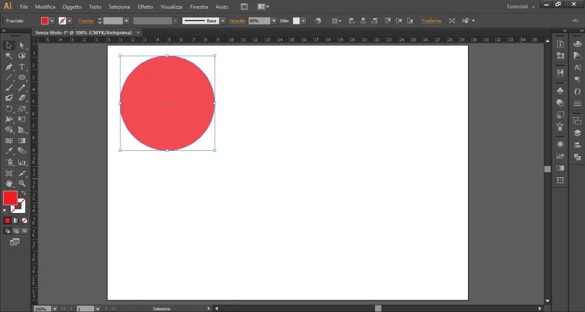 Rimuovere le trasparenze con Illustrator