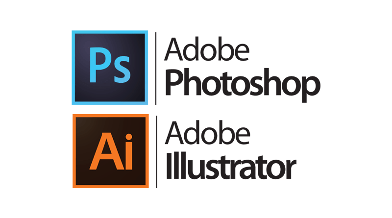 Photoshop and Illustrator full logo