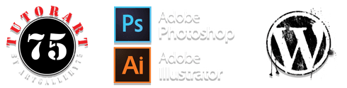 Tutorart75 - Tutorial di Adobe Photoshop, Adobe Illustrator e Wordpress