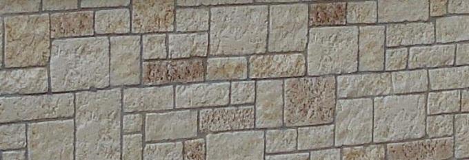 Pietra tecnica per rivestire il vecchio muro