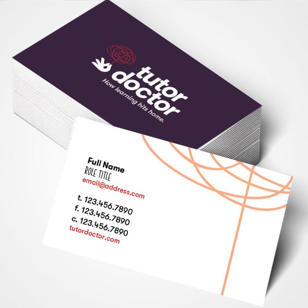 Business Cards Tutor Doctor Store
