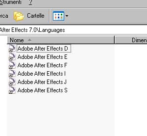 CAMBIARE LINGUA IN AFTER EFFECTS 1