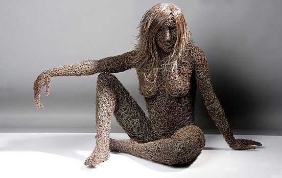 Le sculture di ferro più incredibili di Mattia Trotta