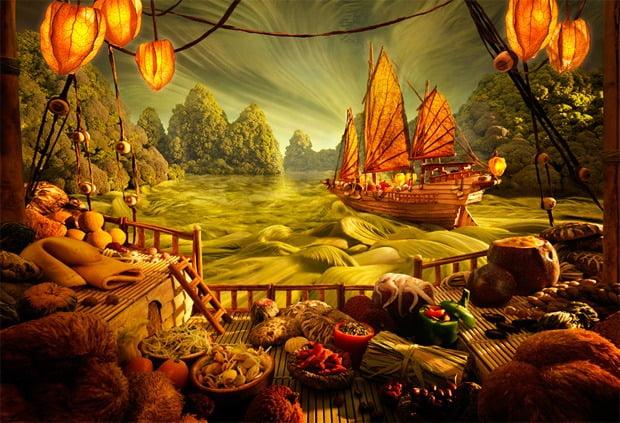 Deliziosi paesaggi di cibo di Carl Warner 9