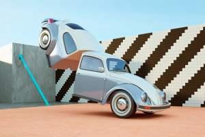 """Le strambe macchine animate del video """"Cut & Shut"""" di Chris Labrooy 2"""