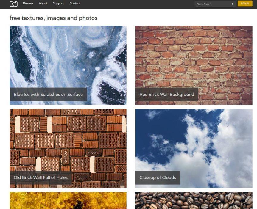 Texture free - le migliori risorse per il download di texture free (update Settembre 2017) 3