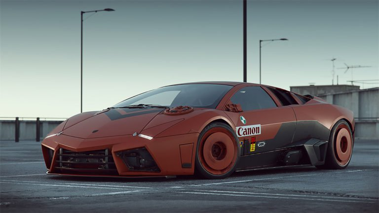 Render 3d di automobili iperrealistici di Carlos Pecino 7