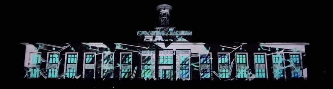 videomapping edificio