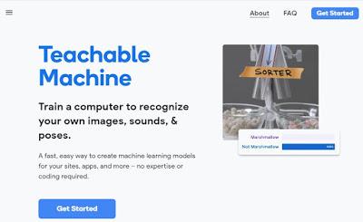 Google teachable machine for AI Class 9