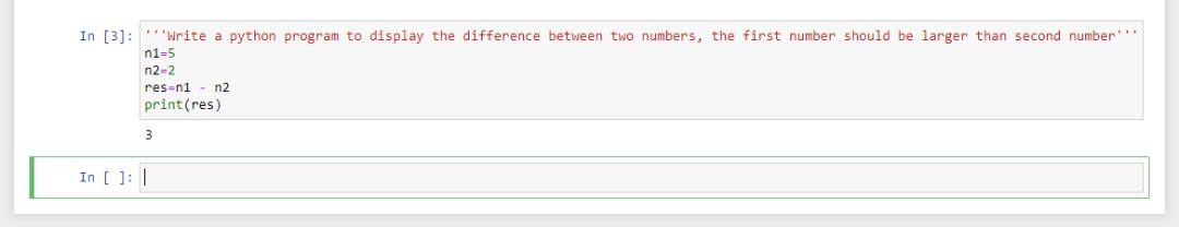 Multiline comments in python - Jupyter notebook
