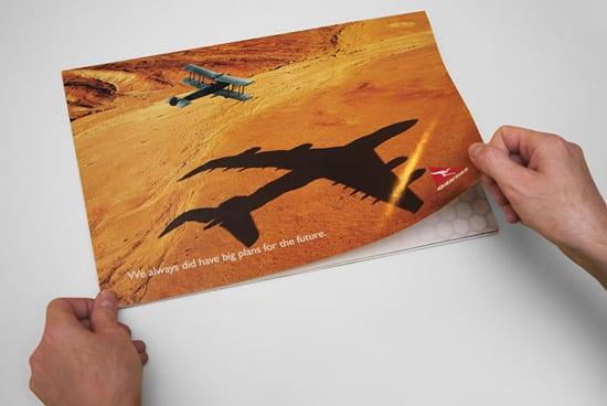 qantas ad01 30 Unique and Creative Advertising Campaigns