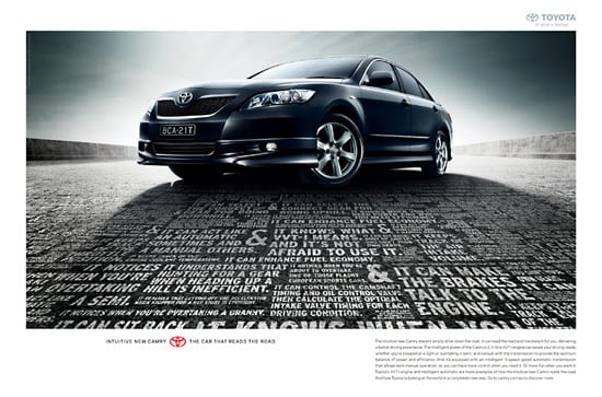 toyota1 30 Unique and Creative Advertising Campaigns