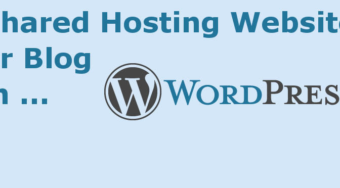 Setting up WordPress (.org) with a Shared Hosted Provider