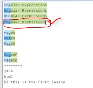 INTRODUCTION TO REGULAR EXPRESSION — TutorialBrain