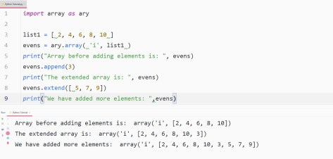 python adding element
