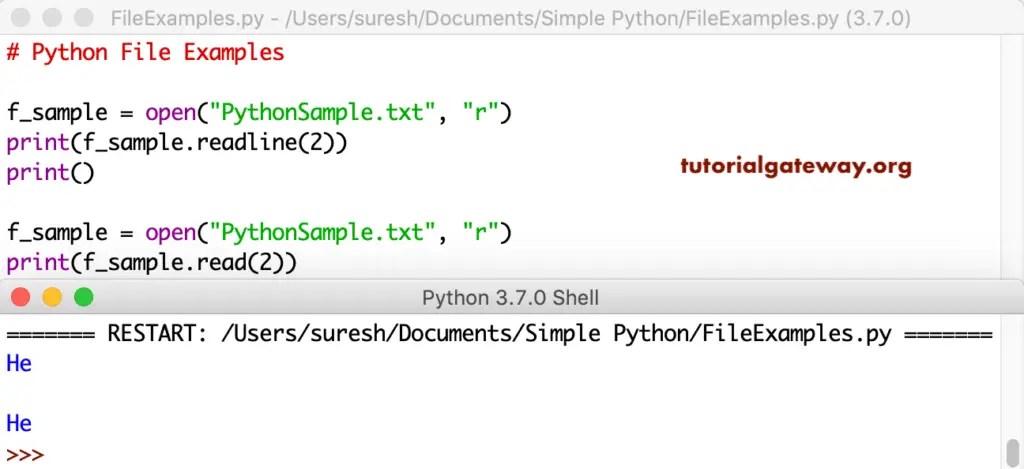 Python File