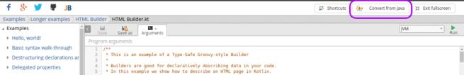 hit the url https://try.kotlinlang.org/ - Kotlin Tutorial